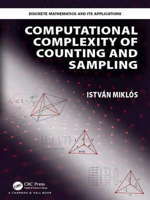 cover image of Computational Complexity of Counting and Sampling